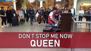 Baixar Don't Stop Me Now Piano Cover St Pancras International Cole Lam 12 Years Old