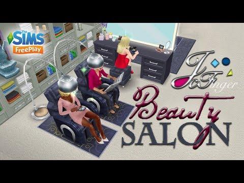 The Sims FreePlay 💄BEAUTY SALON |💇🏼 By Joy.