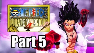 One Piece: Pirate Warriors 4 (2020) Gameplay Walkthrough Part 5 - Whole Cake Island Arc [PS4 Pro]