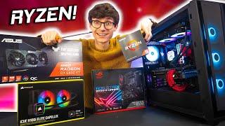The ULTIMATE AMD Gaming PC Build 2021! - Ryzen 9 5900X, RX 6800 XT Cyberpunk 4K Gameplay Benchmarks