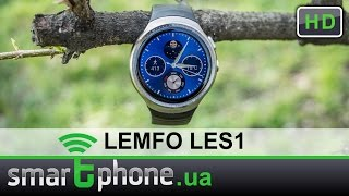 LEMFO LES1 - Обзор. Смарт часы с камерой и 2.5D дисплеем