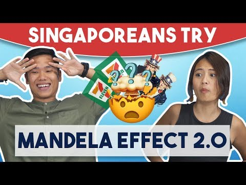 Singaporeans Try: The Mandela Effect 2.0