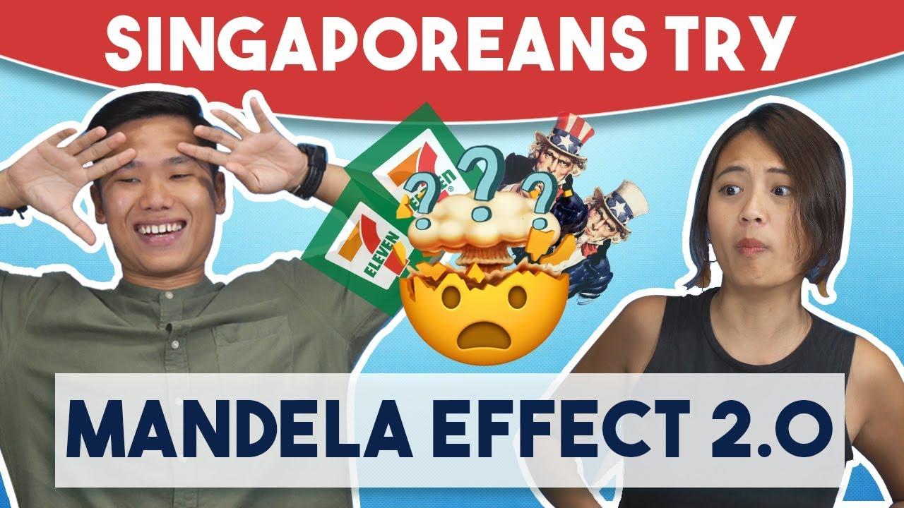 Singaporeans Try: The Mandela Effect 2.0