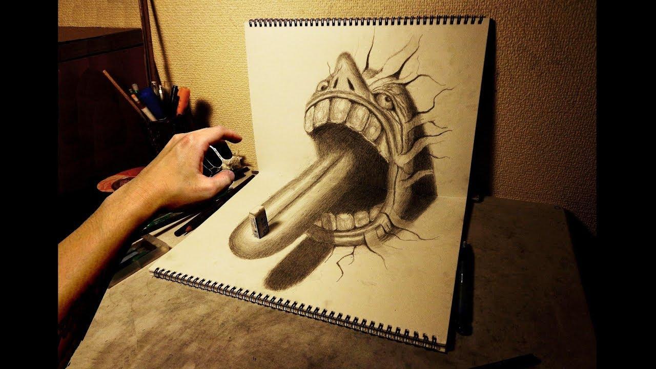 Amazing 3d Art Sketchbook 13