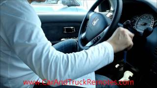 How to Program Honda Replacement Keyless Entry Car Remote Free.wmv