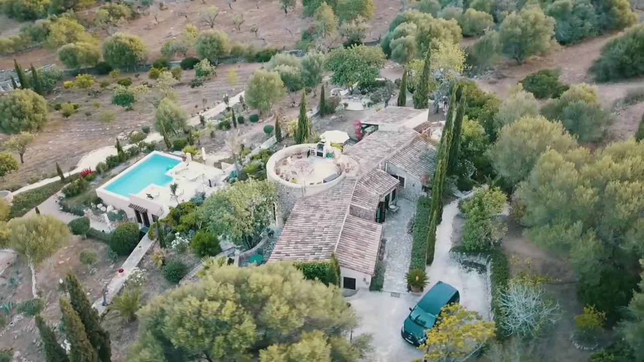 Finca mallorca mieten tolle lage mit meerblick und for Mallorca haus mieten