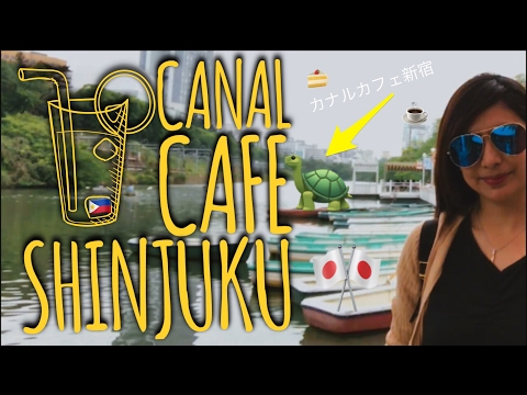 The Best Cafe Restaurant in Shinjuku Tokyo | CANAL CAFE KAGU
