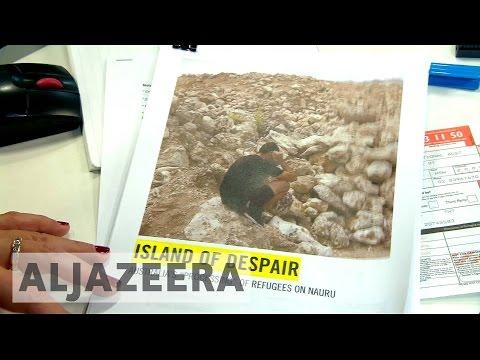 Nauru prison camp: Australia accused of flouting laws