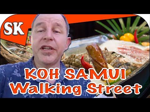 Walking Street Market – Koh Samui – SK Travel Blog