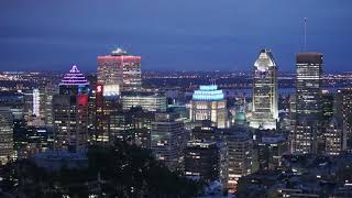 Montreal, Canada Time Lapse 2018 4k UHD