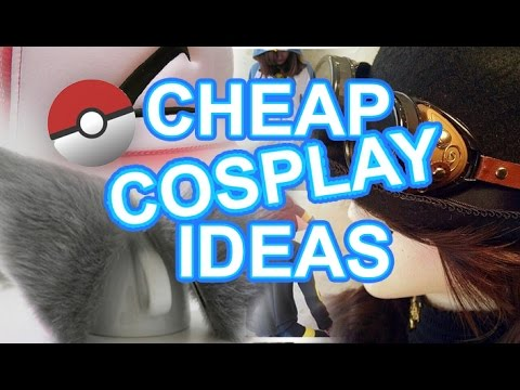 Cheap Cosplay Ideas For A Budget Youtube