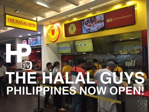 The Halal Guys Manila Philippines Now Open Sm Megamall By Hourphilippines Com Youtube