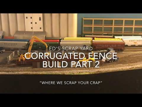 Corrugated Fence Build Part 2