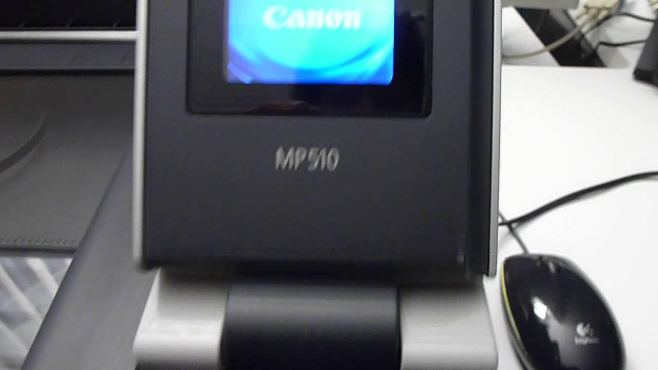 Canon PIXMA MP510 MP Drivers for Windows Mac