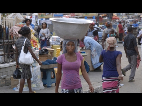 Makola Market is economic heart of Accra, Ghana