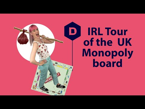 Visiting every street on the Monopoly Board | London Tour