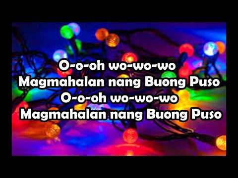 MAGMAHALA NG BUONG PUSO (full lyrics) GMA STATION ID