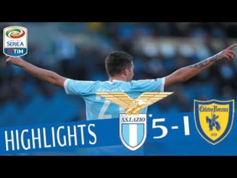 Lazio - Chievo 5-1 - Highlights - Giornata 21 - Serie A TIM 2017/18