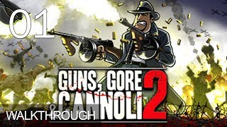Guns Gore & Cannoli 2 Walkthrough Gameplay Part 1 PC LetsPlay