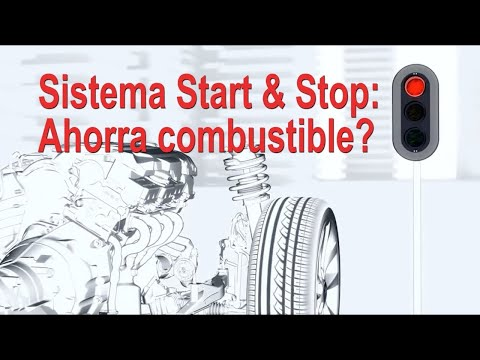 ¿Economiza combustible el sistema Start & Stop del motor?