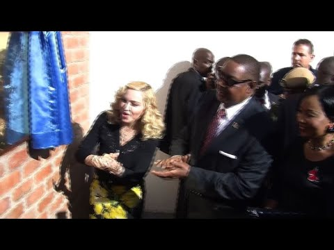 Madonna takes kids back to Malawi to open hospital (2)