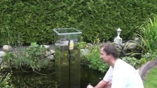 Mein Koi Aussichtsturm im Gartenteich, wie geht es los? (2)