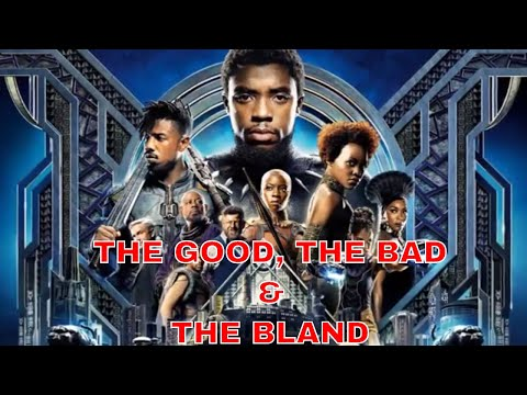 THE BLACK PANTHER IS THE BEST BAD COMIC BOOK MOVIE EVER!