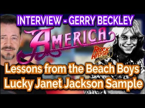 Interview   America's Gerry Beckley On Beach Boys Lessons & Janet Jackson Luck