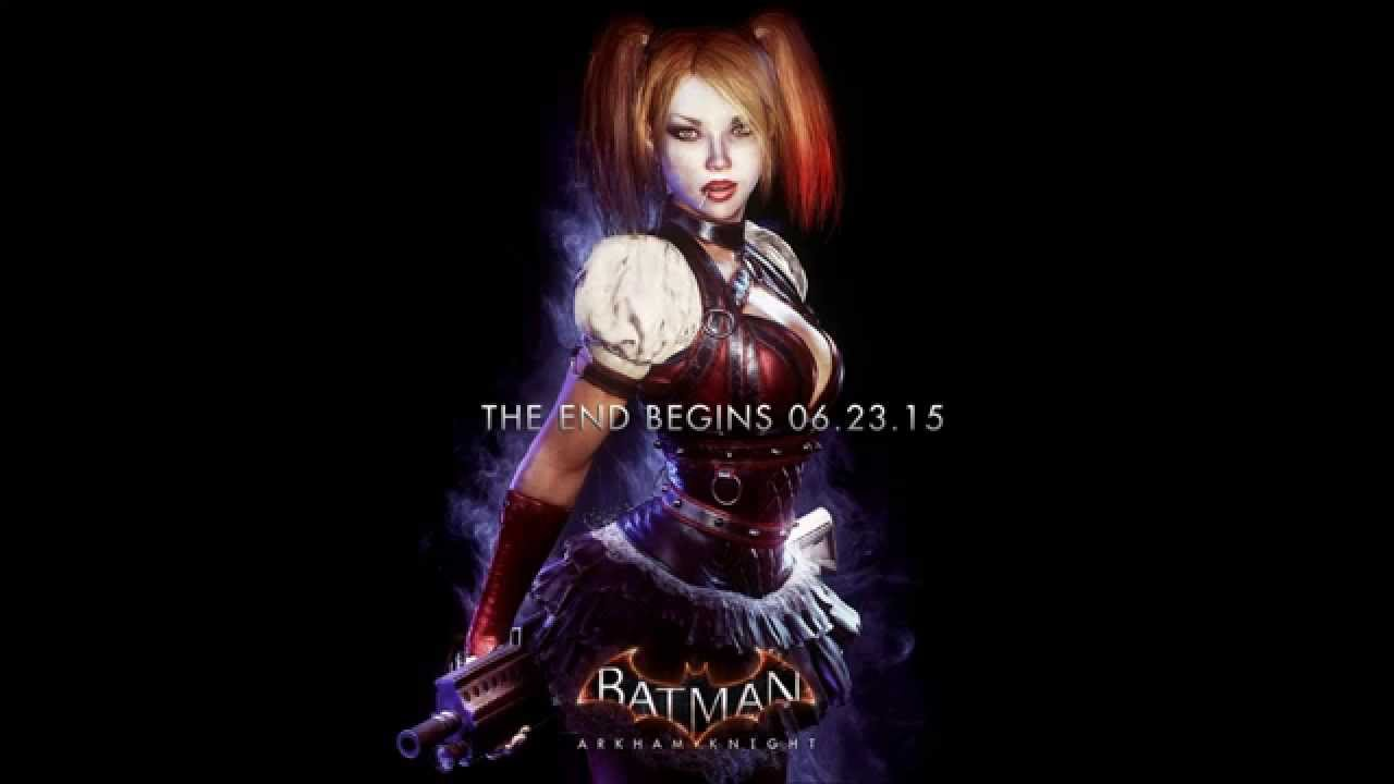 Batman Arkham Knight Harley Quinn Poster Revealed