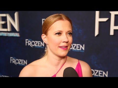 Hit the Red Carpet on Opening Night of FROZEN with Patti Murin, Caissie Levy & More