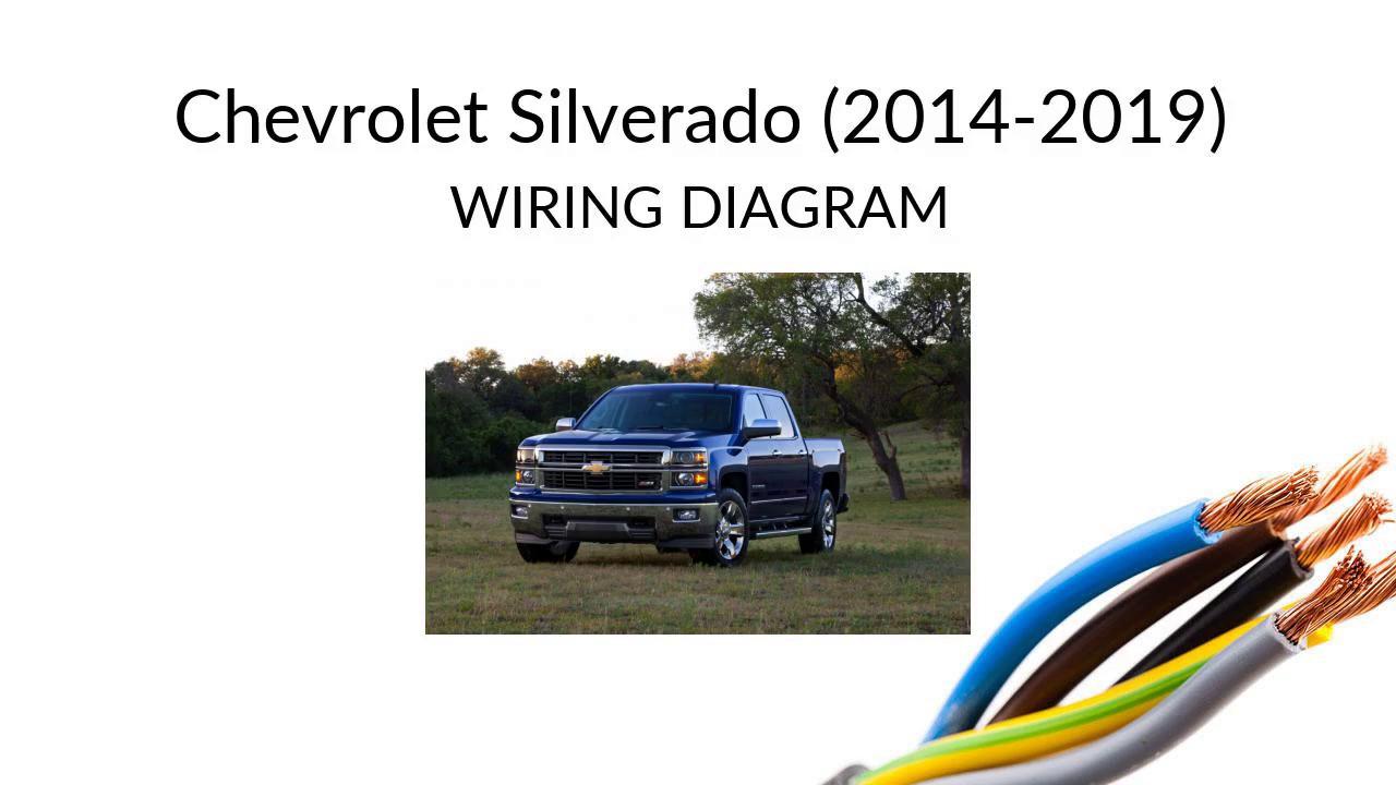 Chevy Silverado wiring diagram - YouTube | 2015 Chevrolet Silverado Wiring Diagram |  | YouTube