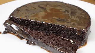 Sugar and flour free! Chocolate cake in 5 minutes of preparation.