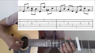 GUITAR TTB - [TUTORIAL] Hướng dẫn when the love falls Fingerstyle