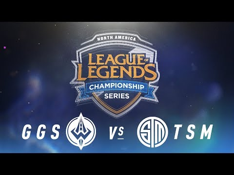 GGS vs. TSM - Week 9 Day 1 | NA LCS Spring Split | Golden Guardians vs. TSM (2018)