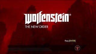 Прохождение Wolfensein:The New Order - 2эпизод:Обожаю спаренные пулемёты.