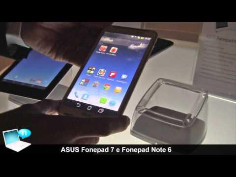 ASUS Fonepad 7 e Fonepad Note 6