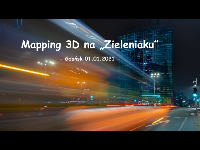 Mapping 3D na Zieleniaku, Gdańsk | fotografuj #zemną