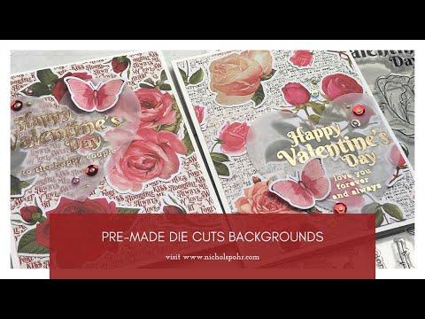 Scrapbook /& Card Making 3 Chocolate Shakes Premade PAPER Die Cuts