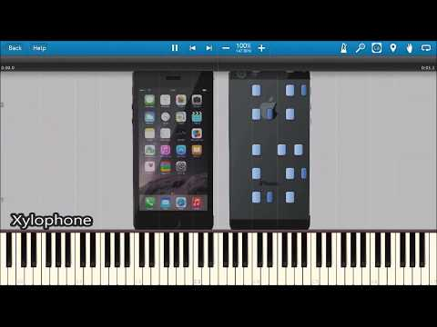 CLASSIC iPHONE RINGTONES IN SYNTHESIA