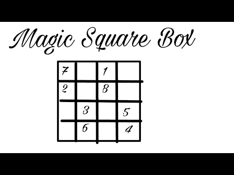magic square 4x4 ll amazing maths magic trick youtube. Black Bedroom Furniture Sets. Home Design Ideas