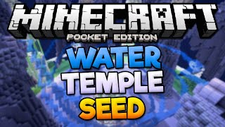 WATER TEMPLE SEED! - Rare Temple Seed With Diamonds - Minecraft PE (Pocket Edition)(AWESOME Minecraft PE seed with two jungle temples next to each other near spawn! One of the temples is in the water! You'll also find a diamond, gold, and ..., 2016-08-13T06:37:23.000Z)