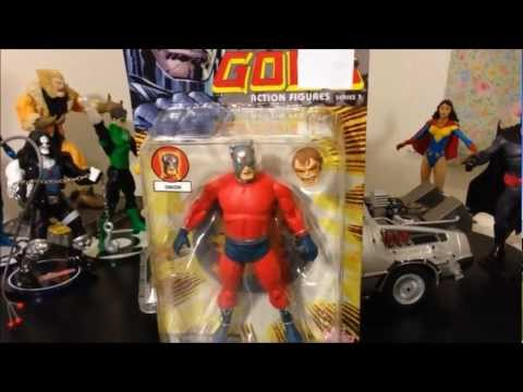 Orion nuevos dioses colección dc comics, dc direct (new gods) unboxings