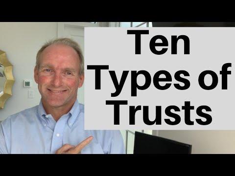10 Types of Trusts