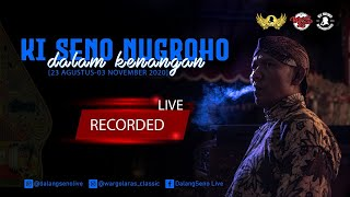 #LiveStreaming ulang  KI SENO NUGROHO - SEMAR MBANGUN KHAYANGAN