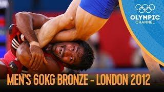 Yogeshwar Dutt Wins Freestyle Wrestling 60kg Bronze v Ri Jong Myong - London 2012 Olympics