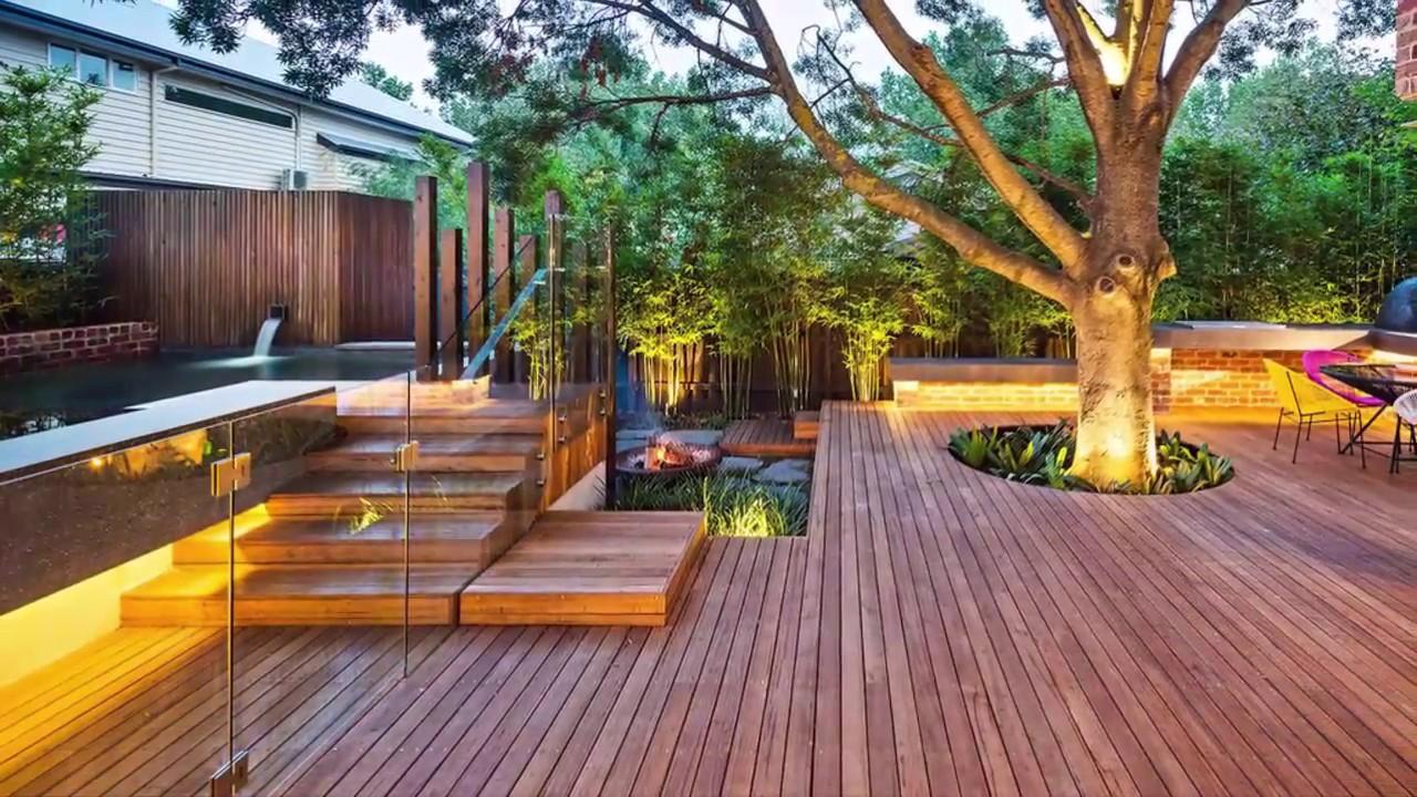 10 Creative backyard landscaping design ideas - YouTube