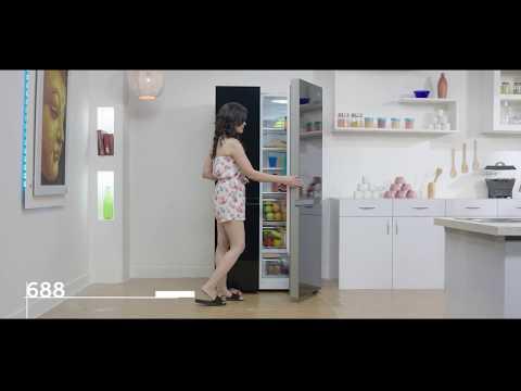 Haier Side by Side Refrigerator - HRF 748 KG