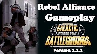 Rebel Alliance Gameplay | Star Wars Galactic Battlegrounds: Expanding Fronts v1.1.1