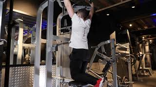 Assisted Wide Pull Up Machine