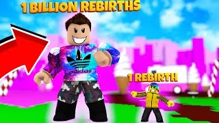 He Has 1 BILLION REBIRTHS can I beat HIM? (Roblox Ice Cream Simulator)